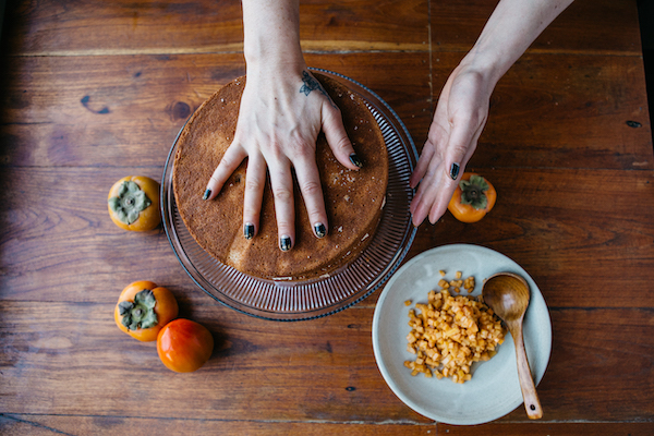 Image of hands making a pastry