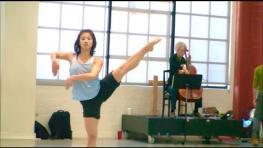 "ODC/Dance Company rehearses ""boulders and bones"""